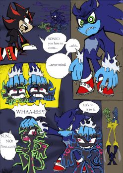 Coloured!Sonic PSG Style sketch comic pg 3 by Auroblaze