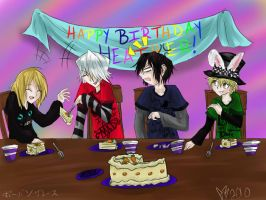 A Mad  Birthday Party by Kalo28