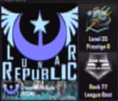 Black Ops 2 Emblem: Lunar Republic by CrazedWD