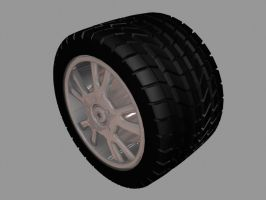 Tire and Rim by Hailfire6