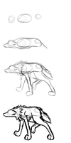 Wolf or dog tutorial by ForeverChangngSpirit