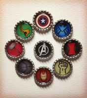 Avengers Magnets by Monostache