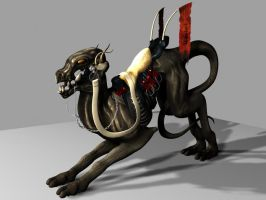 Fable Beast Rider: Trall-Ja 2 by ErebusNyx