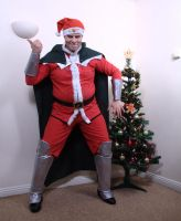 Bison wins Christmas! - Street Fighter cosplay by robthez
