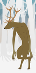 Monsters of Myth and Legend - Wendigo by Juliefan21