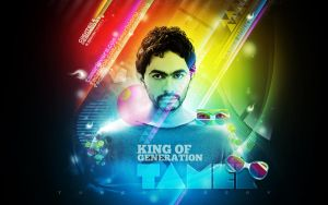 Tamer  Hosny  Abstract Wall. by adriano-designs