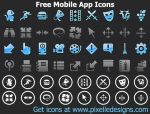Free Mobile App Icons 2011.1 by fawkesbonfire