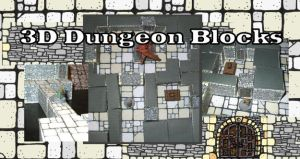 3D Dungeon Blocks prototype by billiambabble