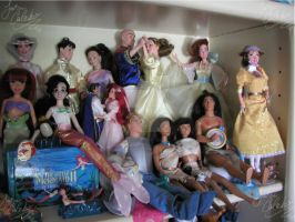 Disney and Animated dolls 2 by JCproductions