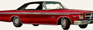 After the age of chrome and fins: 1964 Chrysler by Peterhoff3