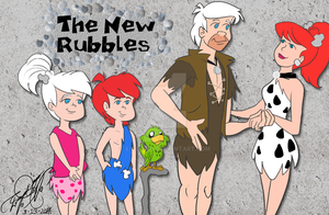The new Rubbles by E-Ocasio