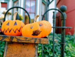 Even Pumpkins Have Faces by billxmaster