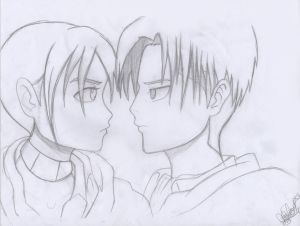 Sia And Levi - I Dare You by NightAngel-16
