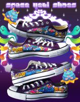 Space Yeti Shoes by marywinkler