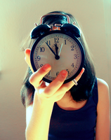 somewhere a clocks is ticking by She-hates-mondays