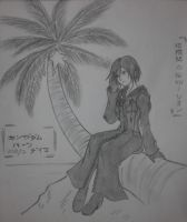 Xion on Destiny Island by unknown3173