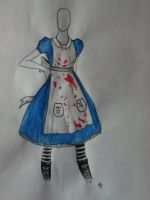 Alice: Madness Returns  (STORY MODE DRESS) by hev-cat97