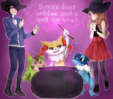 We're gonna cast a spell on you ! by Dollylonn