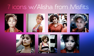 Alisha from Misfits 7 Icon's by kaniejka