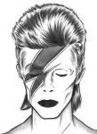Aladdin Sane Bowie Drawing by stardust329