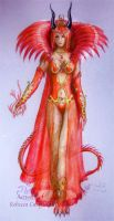 Queen Xenai by chaosia