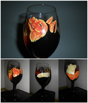 Evin and Crit Wine Glass by Noxtu