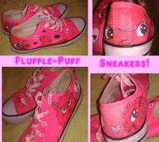 Flufflepuff Sneakers! by MLConley