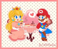 .:It's tea time!:. by CloTheMarioLover