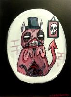 Demon With Top Hat by Comickpro