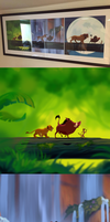 Lion king Log Scene-Remastered by Kitchiki
