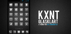 Glasklart Go Launcher Ex Theme by kantbstopped519