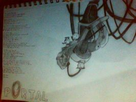 Portal GLaDOS DONE by counselorslug