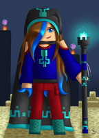 My Minecraft char mage version by DivLight