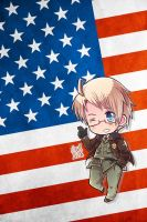 Hetalia iWallpapers - America! by Dreamweaver38