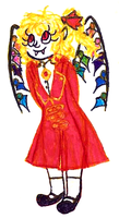 Old Flan Outfit Scan by Talithecazy