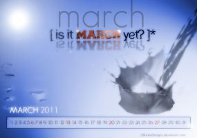 Wallpapers: MARCH 2011 by CBrownDESIGNS