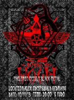 THEKEMIC OCCULT BLACK METAL 10/11/13 by lapidation2012