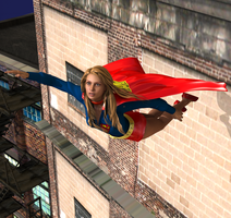 Supergirl On The Way by detstyle