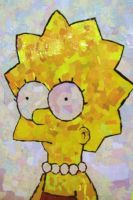 Lisa Simpson Collage by chillbox