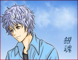 Gintoki :SilverSoul: -collab- by maelstromb