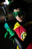 Damian Wayne - batarangs by Nela13