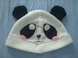 Panda hat by Mayumiligaya