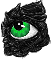 Green dragon eye by agree-to-dissagree