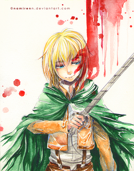 Bloody Armin by namirenn