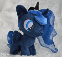 Filly Princess Luna plush by PinkuArt