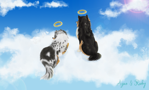 All Dogs go to Heaven by Caronat