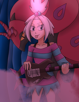 Homika's Concert by sketchinnegro