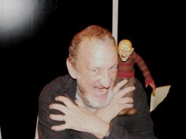 .:Robert Englund and my Doll:. by Tillchen