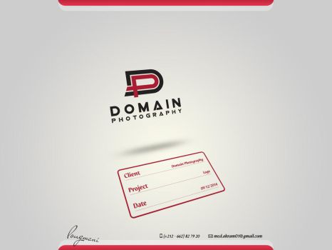 Domain Photography Logo by LMA-Design