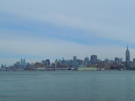 Looking East Towards The West Side by Brooklyn47